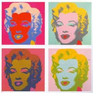 Marilyn ผลงาน Andy Warhol