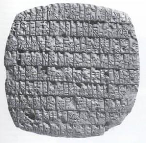 อักษรcuneiform
